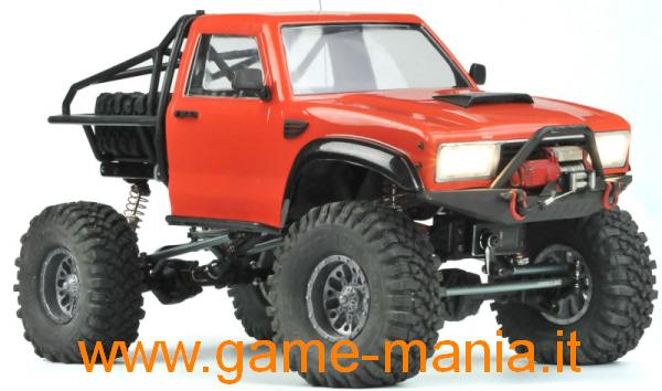 Demon SR4-B scaler 1:10 in kit di montaggio 4x4 by Cross-RC