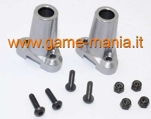 Alloy straight rear hubs (2x) for GS01 axles by Gmade