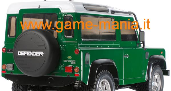 Land Rover DEFENDER 90 carrozz. lexan trasparente by Tamiya