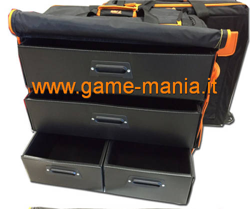 Borsa professionale portamodelli 1:10 a TRE scomparti by Team Magic