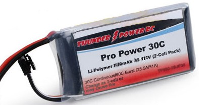 Pro Power 1350Mah 3S1P 30C/60C picco by Thunder Power