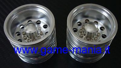 10-holes alloy REAR TWIN rims for trucks by GPM