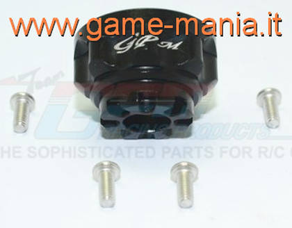 BLACK ALLOY differential gears carrier for Traxxas TRX-4 by GPM