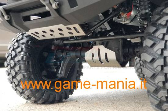 INOX chassis protector for Traxxas TRX-4 by GPM
