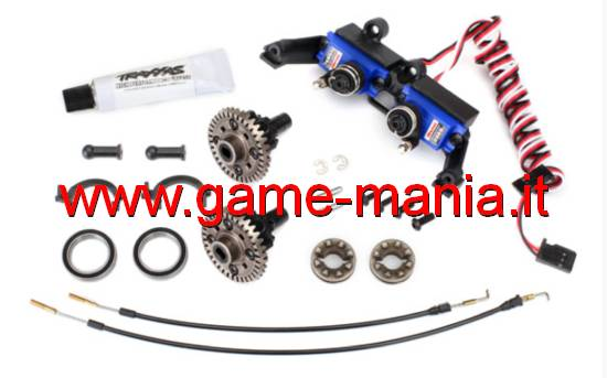 Kit conversione DIFFERENZIALI SBLOCCABILI x TRX-4 Sport by Traxxas