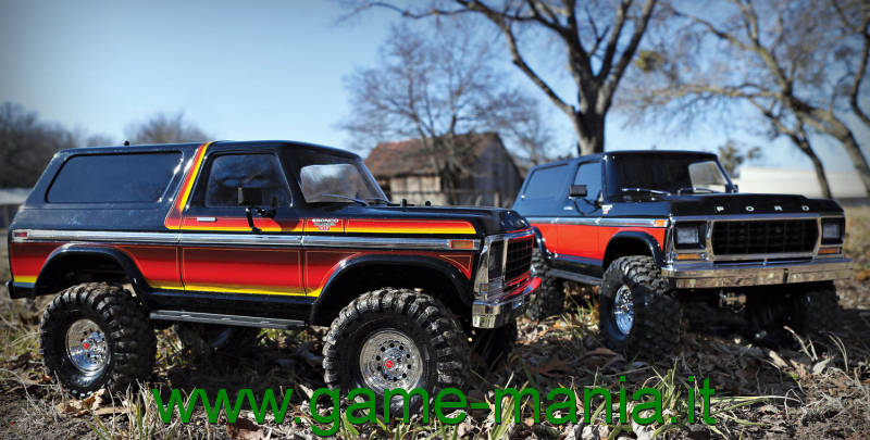 TRX-4 FORD BRONCO 1979 SCALER RTR 1:10 by Traxxas