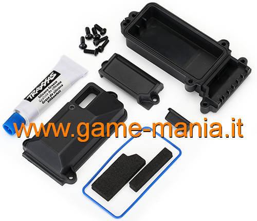 WATERPROOF receiver box w/accessories for TRX-4 by Traxxas