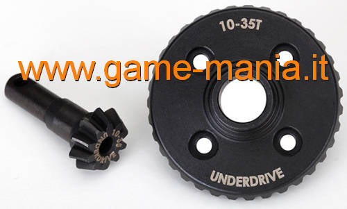 10T pinion and 35T ring UNDERDRIVE gears for TRX-4 by Traxxas
