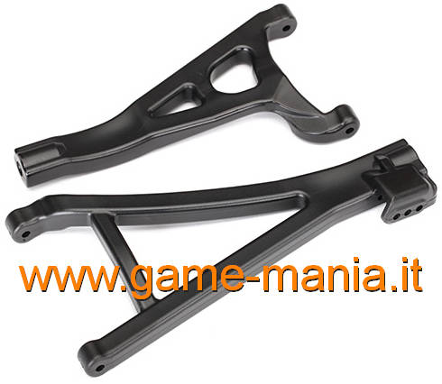 LEFT FRONT stock suspension arms for E-Revo 2.0 1/10 by Traxxas
