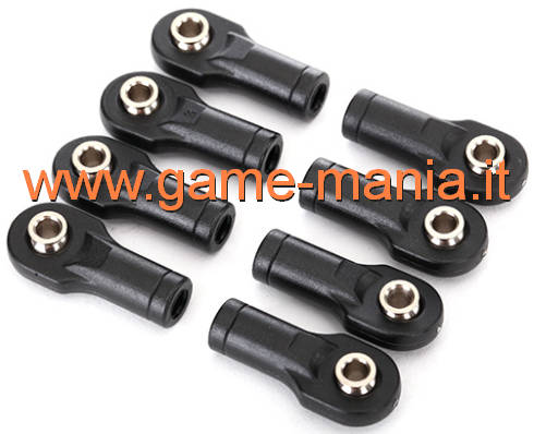 8x short Uniball joints and hollow spheres for E-revo 2 by Traxxas