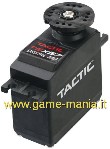 TSX57 servo DIGITALE ingr. METALLO 13,5Kg/0.20sec a 6V by Tactic