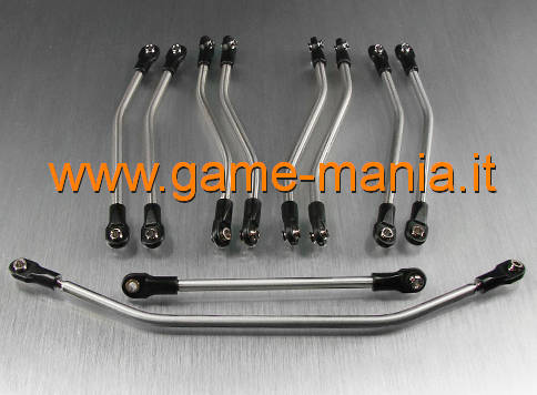 Set links e barre di sterzo IN TITANIO per Axial Wraith by Vanquish Products