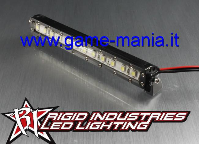 Barra luci tetto 115mm SMD IN LEGA NERA Rigid Ind. by Vanquish Products