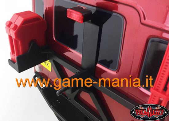 High rear third brake light for Traxxas TRX-4 by CCHand