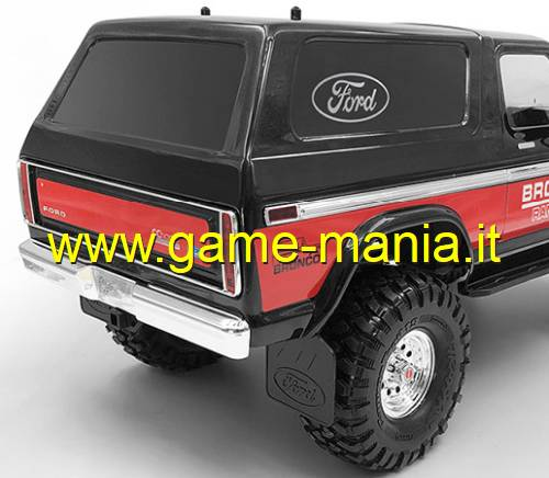 Adesivi LOGHI FORD bianchi e neri scala 1:10 by RC4WD