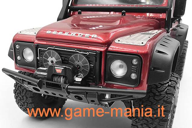 Finto radiatore con griglie fotoincise per D110 body TRX-4 by RC4WD