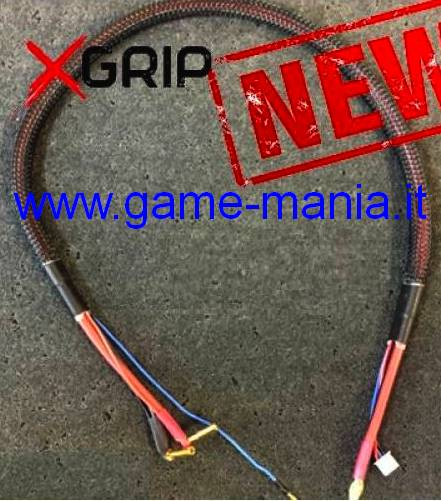 Wire harness for 2S 4mm BULLET batteries XH balanced by X-Grip