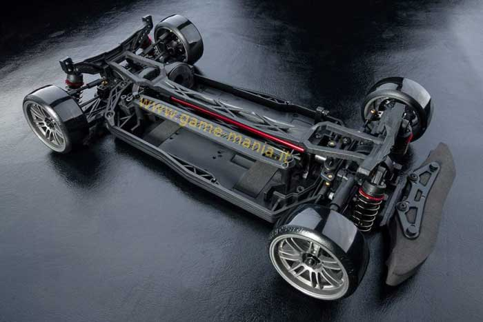 XXX-D S automodello 1:10 da drift 4WD ad albero in kit by MST