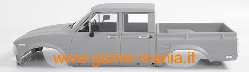 Complete Mojave II 4-DOORS 313mm body set Light Grey ABS by RC4WD