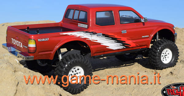 Carrozz. Toyota TACOMA in lexan trasp. e parabole 313mm by RC4WD