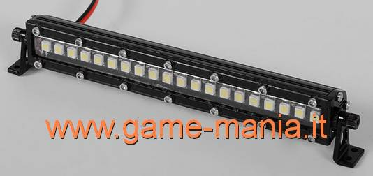 Barra luci tetto IN LEGA NERA a 20 LEDS SMD ultrarealistica by RC4WD
