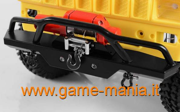 Paraurti anteriore in acciaio Rampage Recovery by RC4WD