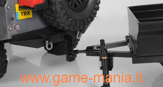 Gancio traino posteriore regolabile in lega TRX-4 by RC4WD