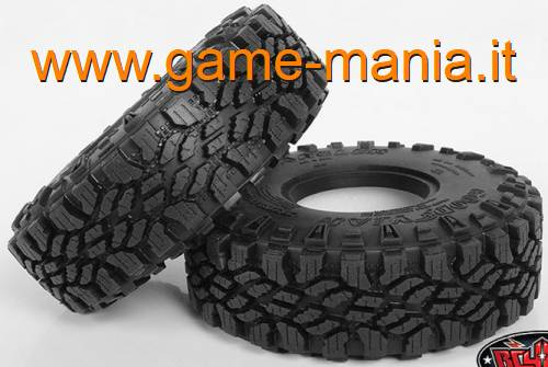 "Pair of 1.9 GOODYEAR WRANGLER DURATRAC 4.7"" tires by RC4WD"