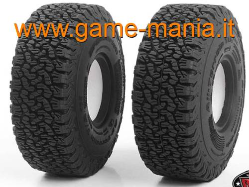 Pair of 1.9 BFGoodrich KO2 A/T tires with inserts by RC4WD