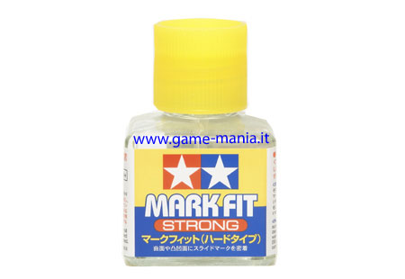 Fissante-ammorbidente per decal Mark Fit Strong 40ml by Tamiya